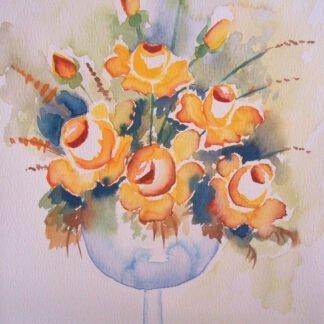 Bouquet di Rose - Acquerello