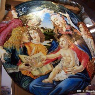 Tondo Botticelli - Dipinto