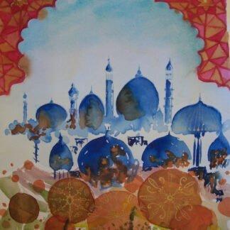 Moschee - Acquerello